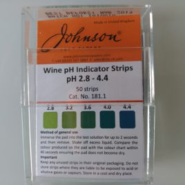 Tiras Analizador de PH 2,8-4,4 (50 uds.)