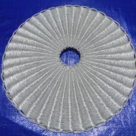 Discos para lagares cilíndricos con agujeros (capachos)