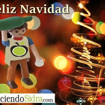 Felices Fiestas y Feliz Navidad.