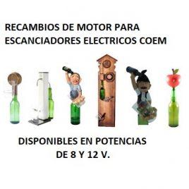 Recambio Motor Escanciadores COEM